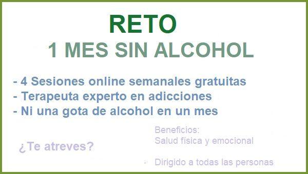 Reto 1 mes sin beber alcohol